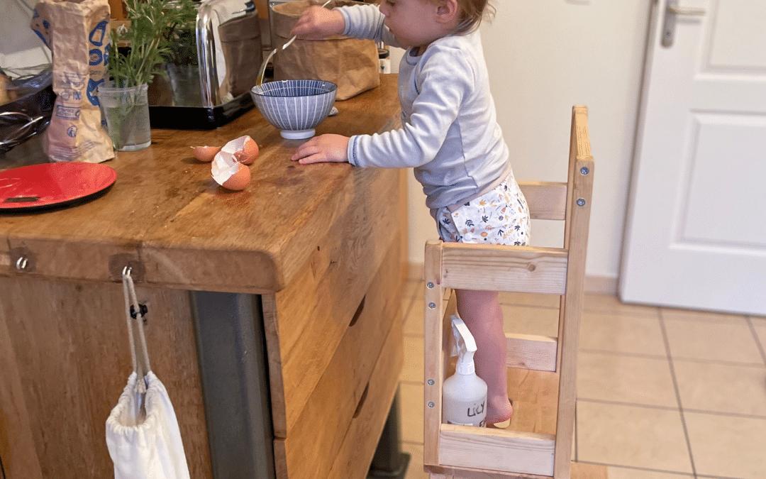 DIY : je fais ma tour d'observation Montessori